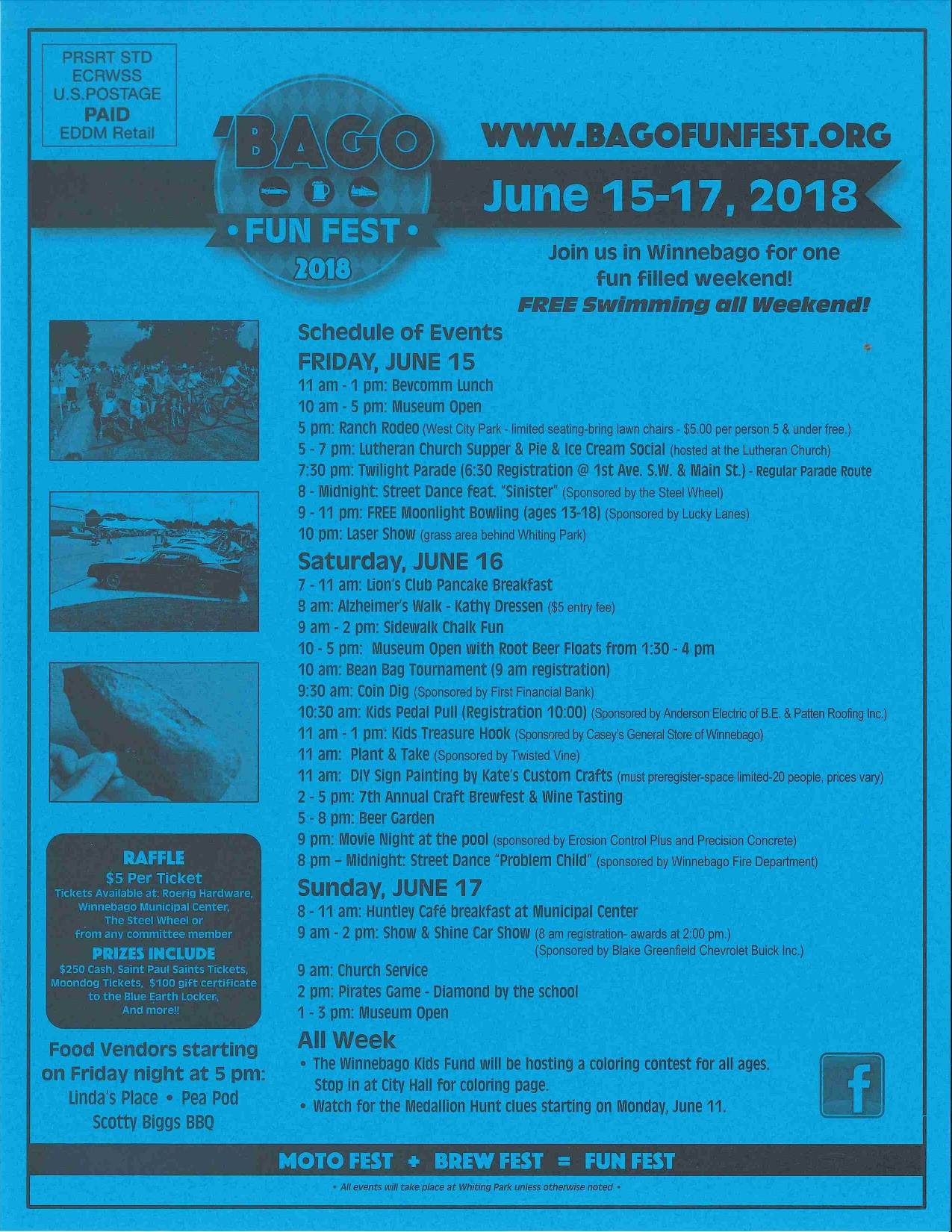 Bago Fun Fest 2018 - June 15, 16, 17