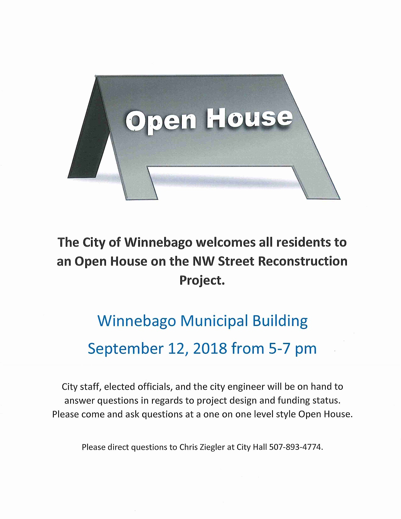 NW Area Public Hearing and Open House Sept 12