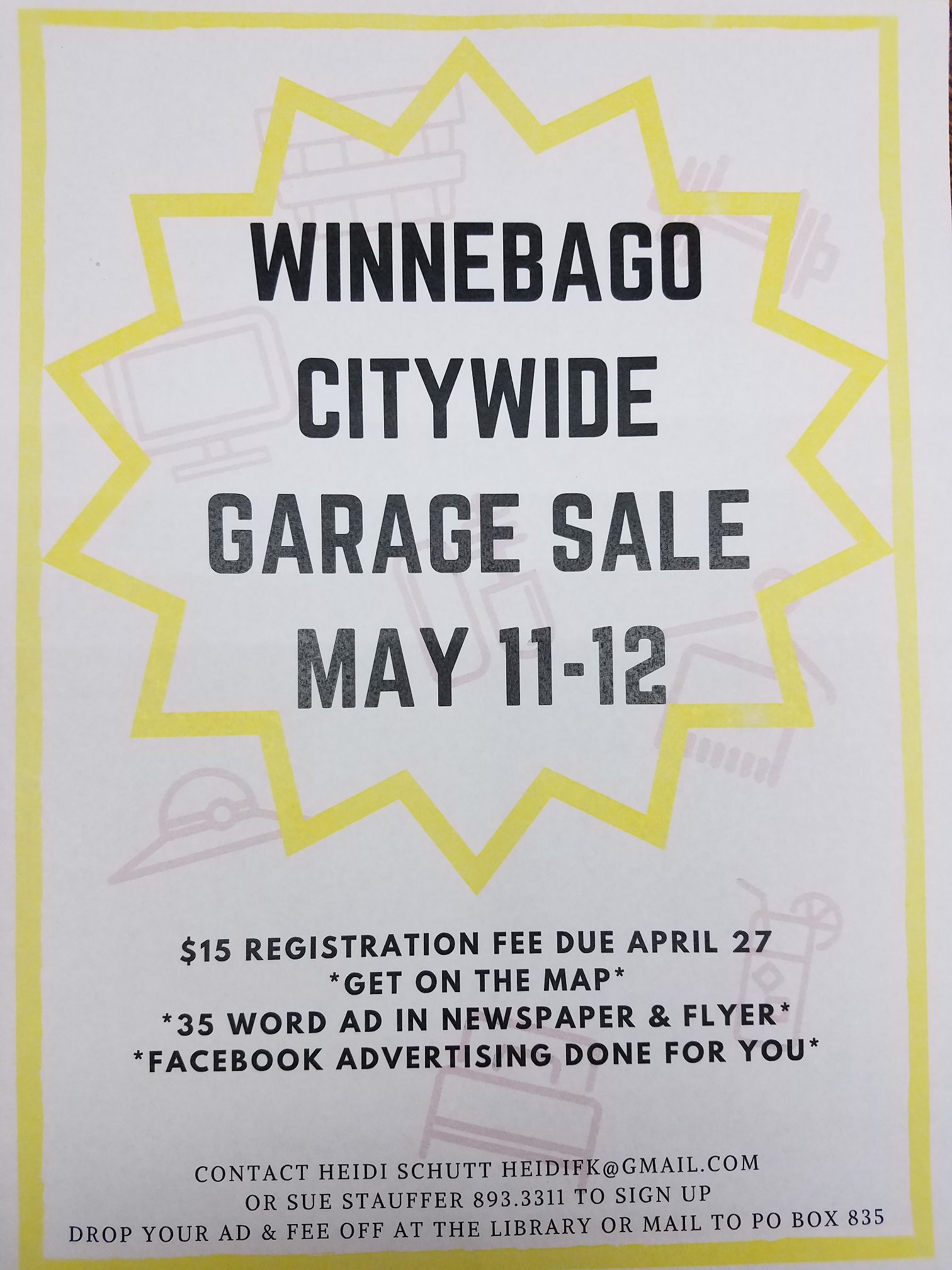 Spring City Wide Garage Sales